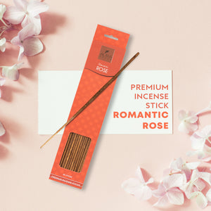 Romantic Rose Aroma Incense Sticks ( 40 Sticks )