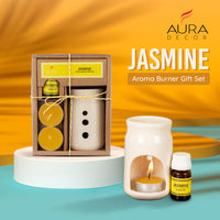 AuraDecor Aroma Oil Burner Gift Set ( Jasmine )