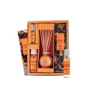 Reed Diffuser Gift Set with Potpourri Master Box 20 Pcs ( RD-10 )