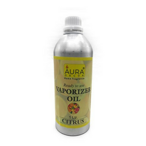 AuraDecor Ready to Use Citrus Vapourizer Oil 1 Ltr - auradecor.co.in