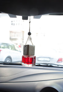 Cube Shape Car Freshener ( English Rose ) - auradecor.co.in