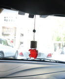 Apple Hanging Car Freshener ( English Rose ) - auradecor.co.in