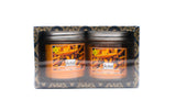 Gift Set of 2 Soy Wax Jar Candle Cinnamon Fragrance - auradecor.co.in