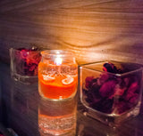 Gel Jar Candles ( Orange  ) - auradecor.co.in