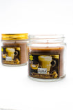 Gift Set of 2 Soy Wax Jar Candle Choco Latte - auradecor.co.in