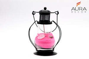 Gel Lantern ( Assorted Colours ) - auradecor.co.in