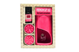 AuraDecor Aroma Oil Burner Gift Set ( Rose ) - auradecor.co.in