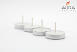 AuraDecor Pack of 50 Smokeless Tealight Candle (Burning Time 1.5 hours approx)