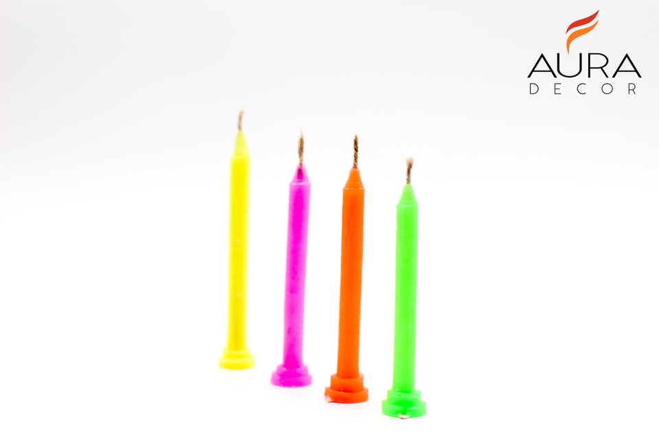 Swastik Festive Candles Pack of 15
