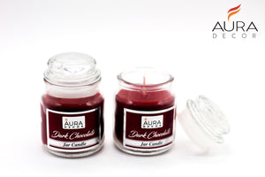 Set of 2 Lid Jar Gift Set ( Cookie Jar, Glass Lid Jar ) - auradecor.co.in