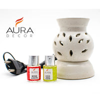 AuraDecor Electric Aroma Diffuser Gift Set - auradecor.co.in