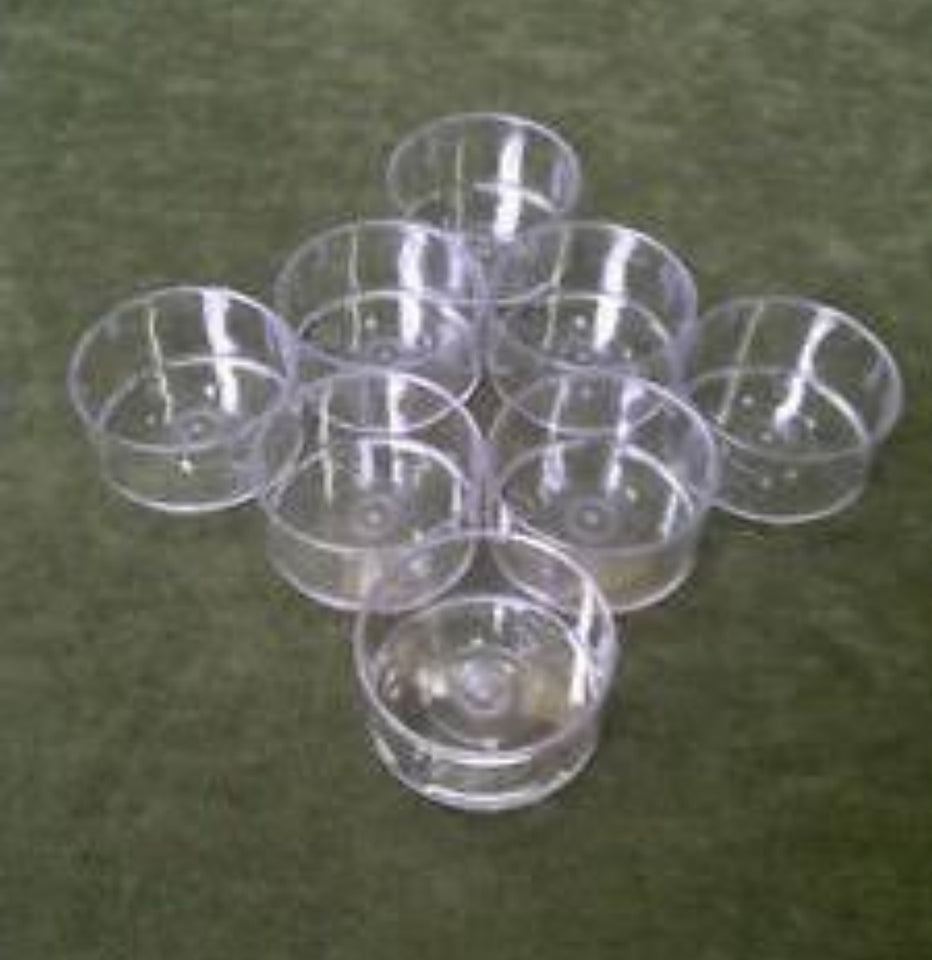 AuraDecor PolyCarbonate Cups Cylinderical Shape