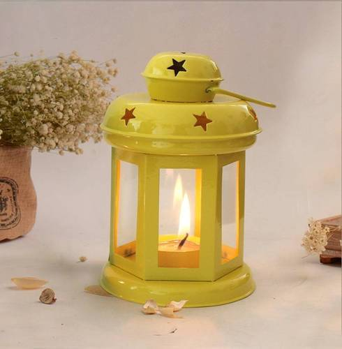 AuraDecor Tealight Candle Holder with a Tealight Candle