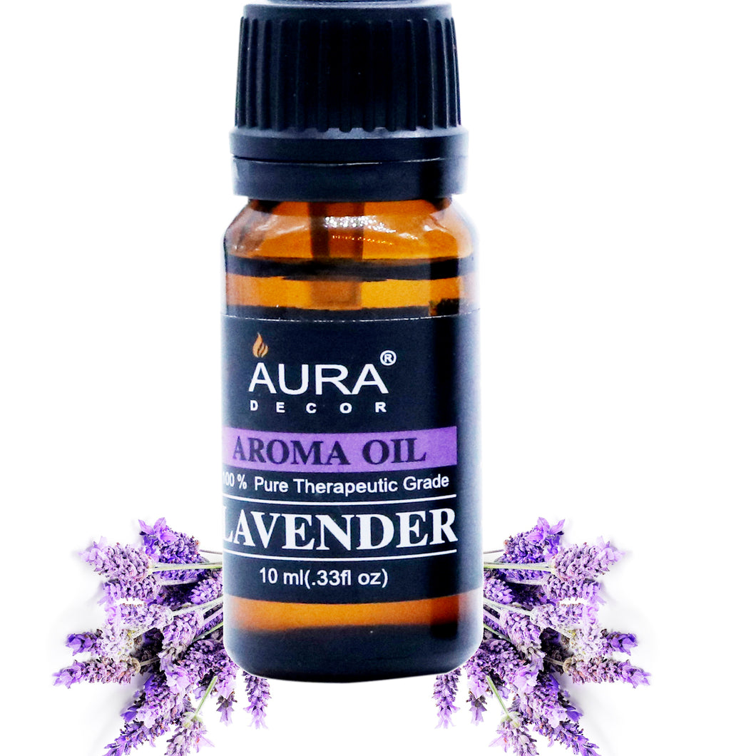 Lavender Aromatheraphy Oil 10ml - auradecor.co.in