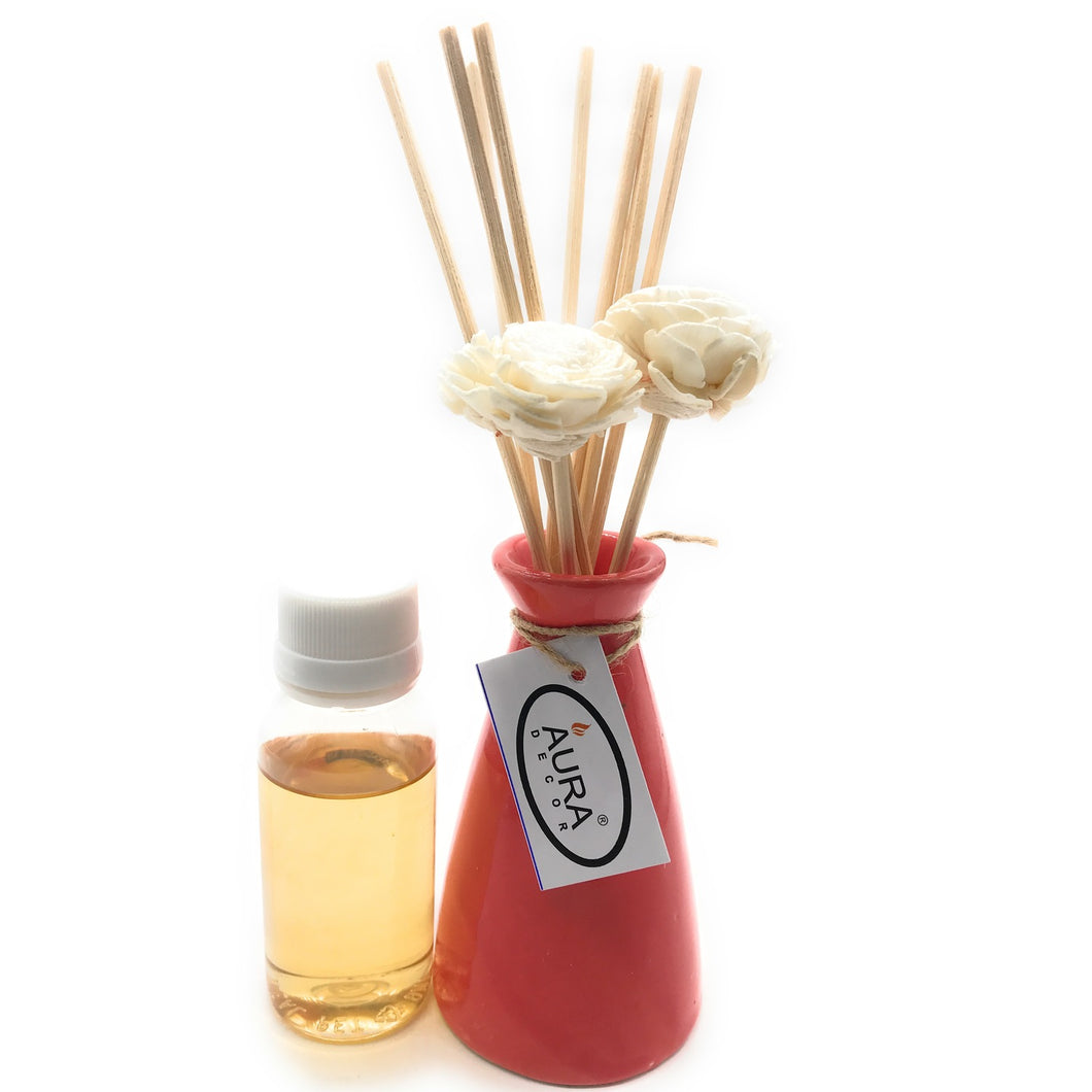 Reed Diffuser Gift Set ( Romance Fragrance ) - auradecor.co.in