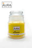Lemon Lid Jar Candle - auradecor.co.in