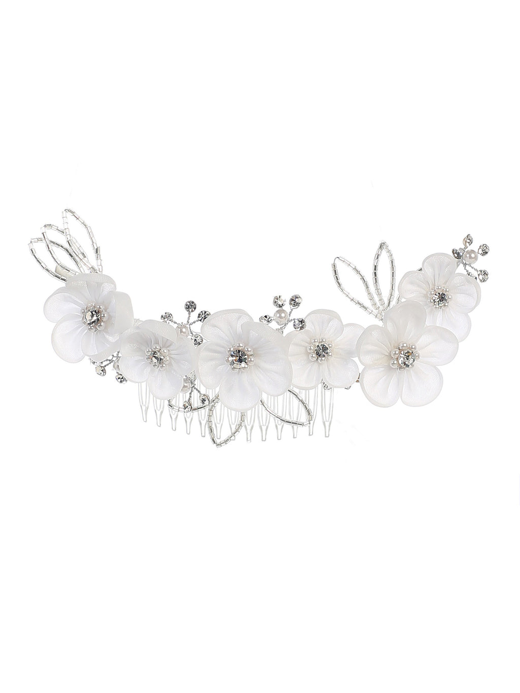 White Flower Comb