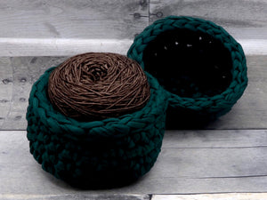 Crocheted Yarn Bowls
