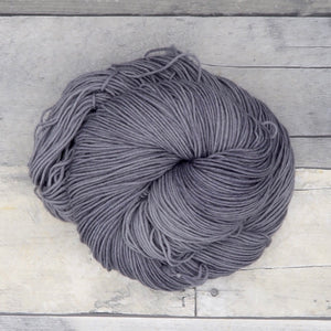 Silver grey - 20g Mini Skein - Tonal Yarn (Everyday Sock)