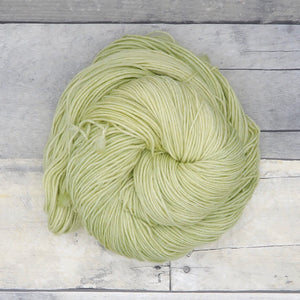 Pistachio - 20g Mini Skein - Tonal Yarn (Everyday Sock) -  pale, earthy green