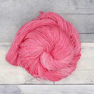 Flamingo - 20g Mini Skein - Tonal Yarn (Everyday Sock) -  vibrant pink
