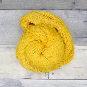 Duckling - 20g Mini Skein - Tonal Yarn (Everyday Sock) -  warm, cheerful yellow