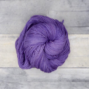 Lilac - 20g Mini Skein - Tonal Yarn (Everyday Sock) - mid-tone slightly warm purple
