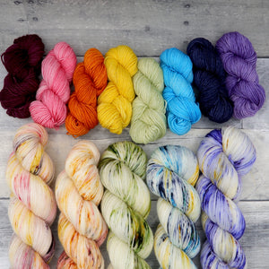 Affirmations Collection Mini Skein sets (Everyday Sock)