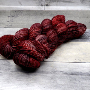 Brickin' Awesome (Everyday Sock, tonal) - deep red and brown tonal