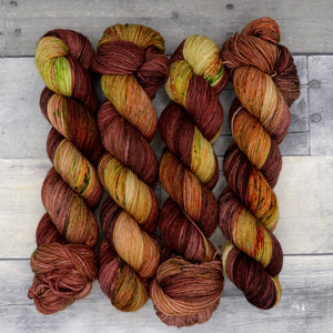 Whomping Willow (Everyday Sock, variegated/speckle/pooling)