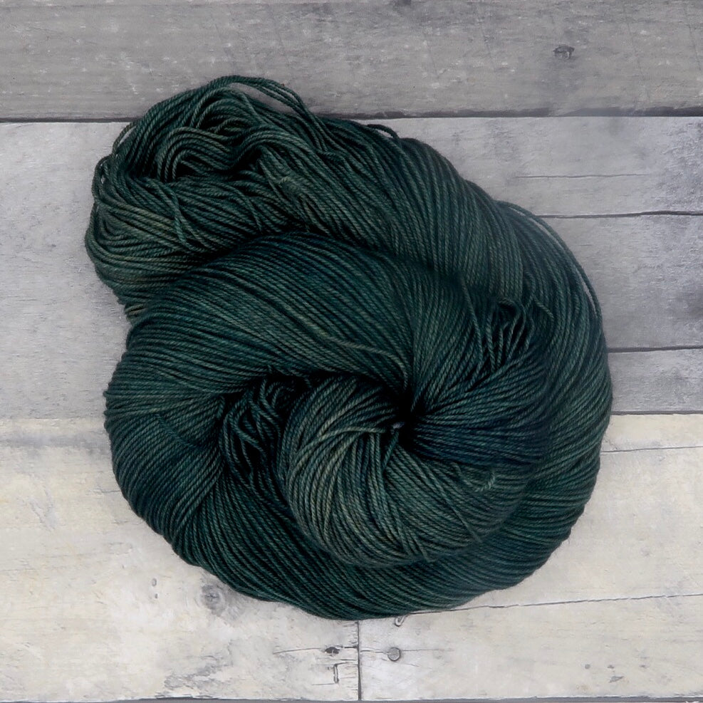 Forest Green - Yak Sock Tonals - 50g
