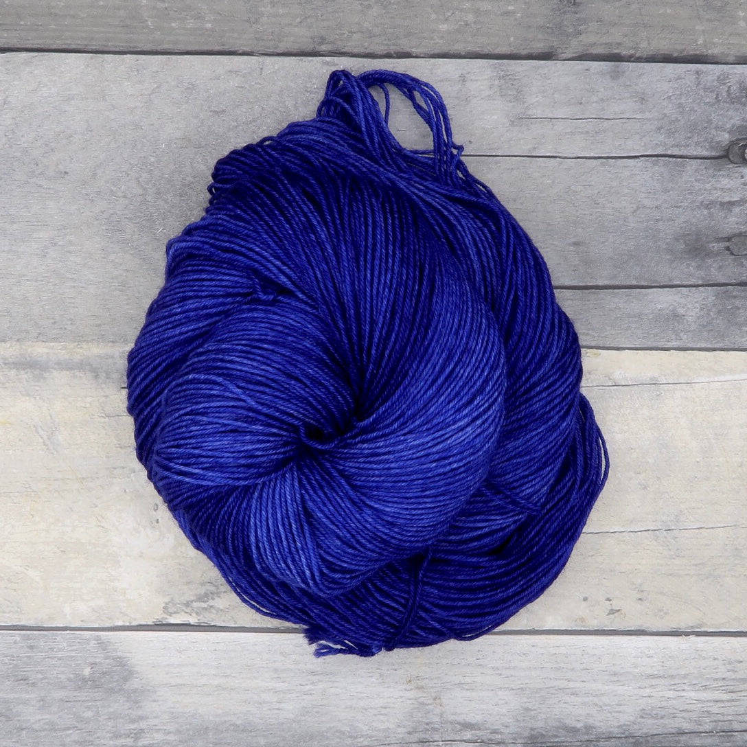 Midnight Blue - Tonal Yarn (Everyday Sock) -  50g