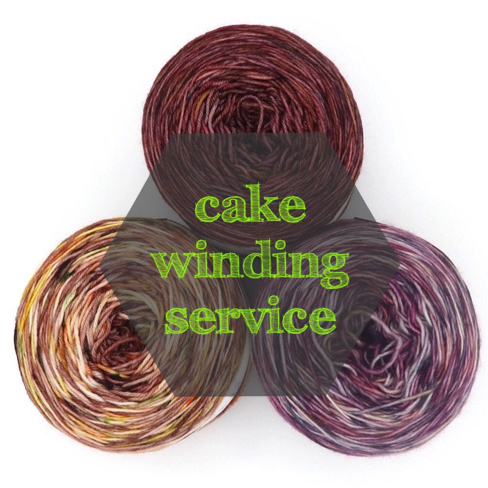 Cake winding - add per hank purchased