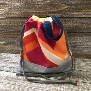 Drawstring Project Bag (medium)