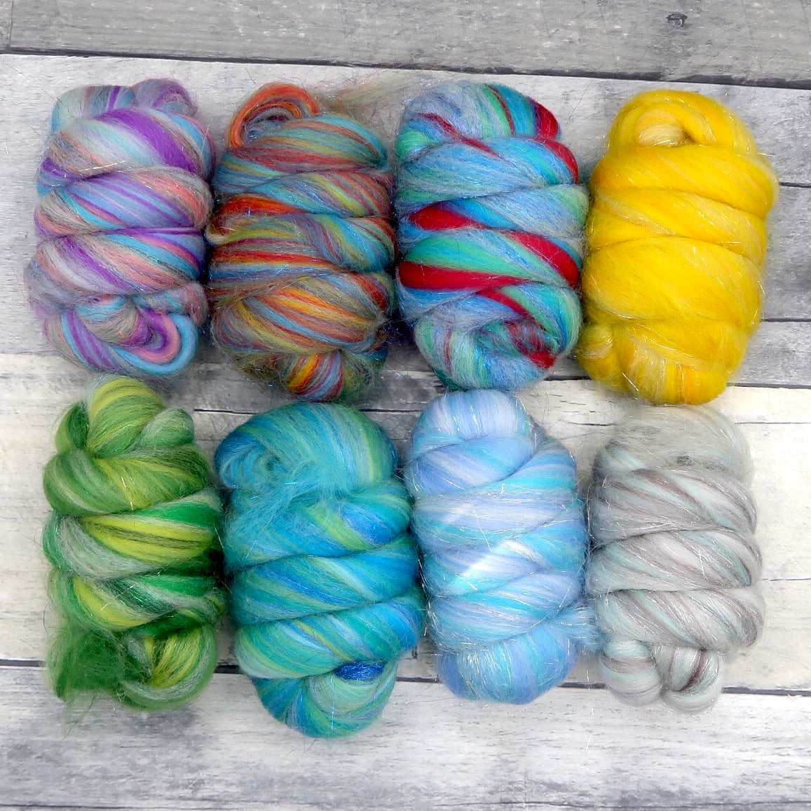 Twinkly Bits, colorful Merino / Stellina Blend, 200g