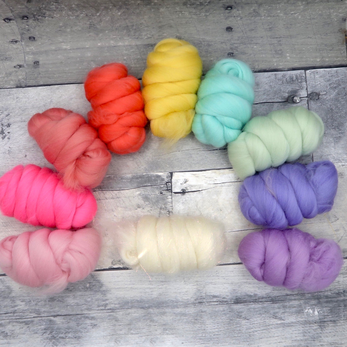 Unicorn Bits, colorful Merino and Merino / Stellina Blend, 250g