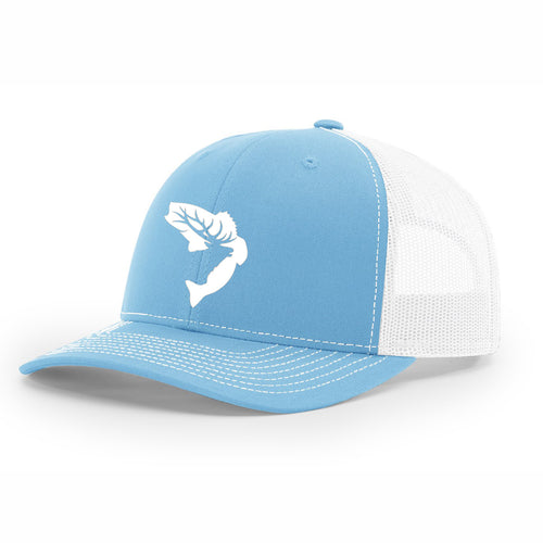 NEW! - Baby Blue & White Embroidered Hat