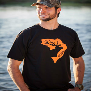 Black and Orange T-Shirt