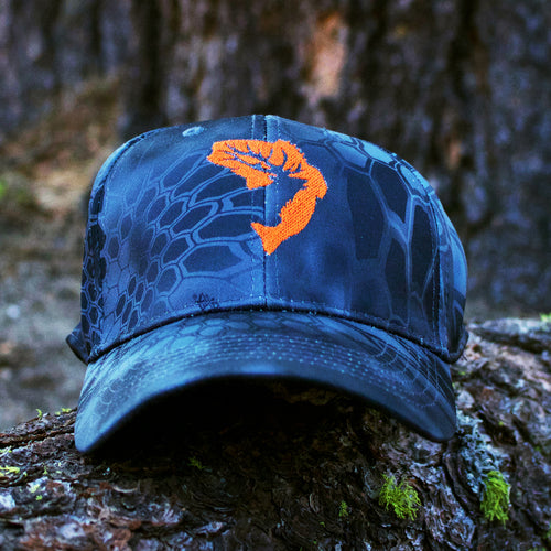 Orange Typhon Kryptek Embroidered Hat