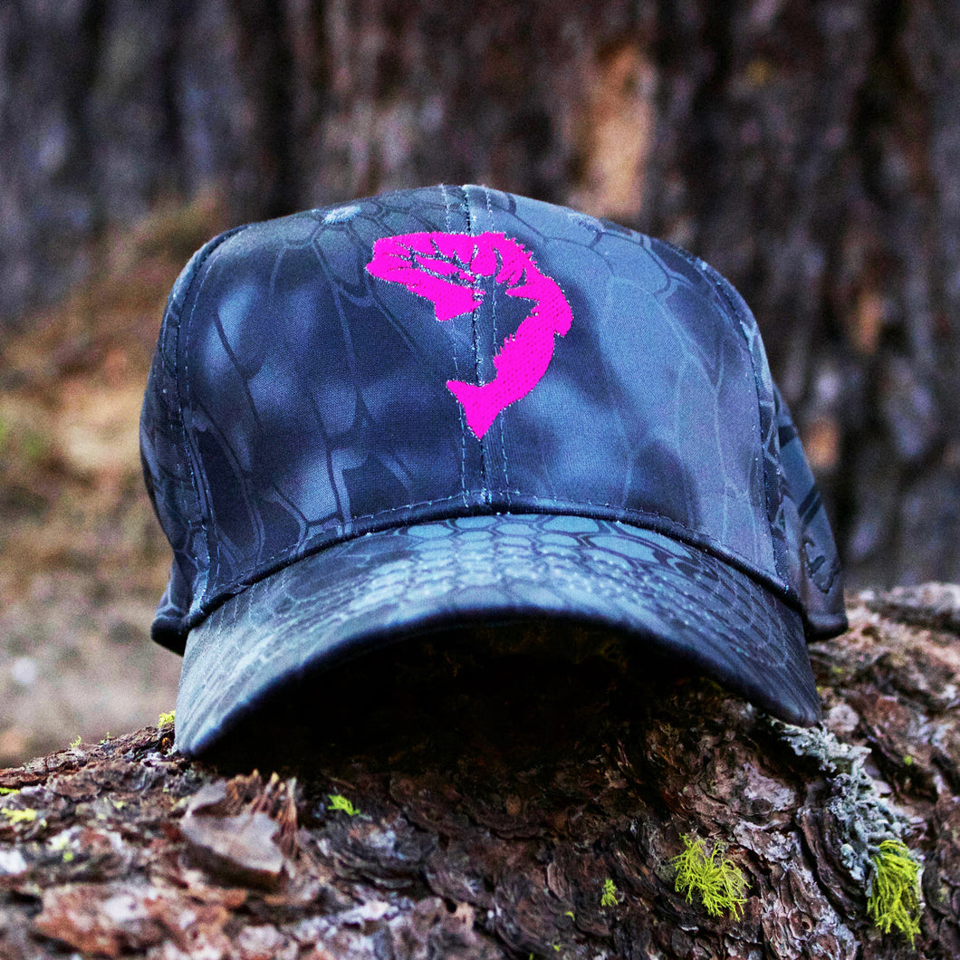 Pink Typhon Kryptek Embroidered Hat