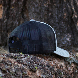 Black and Denim Colored Snapback Hat