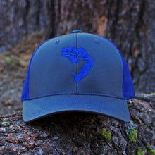 Dark Blue Icon Snapback Hat