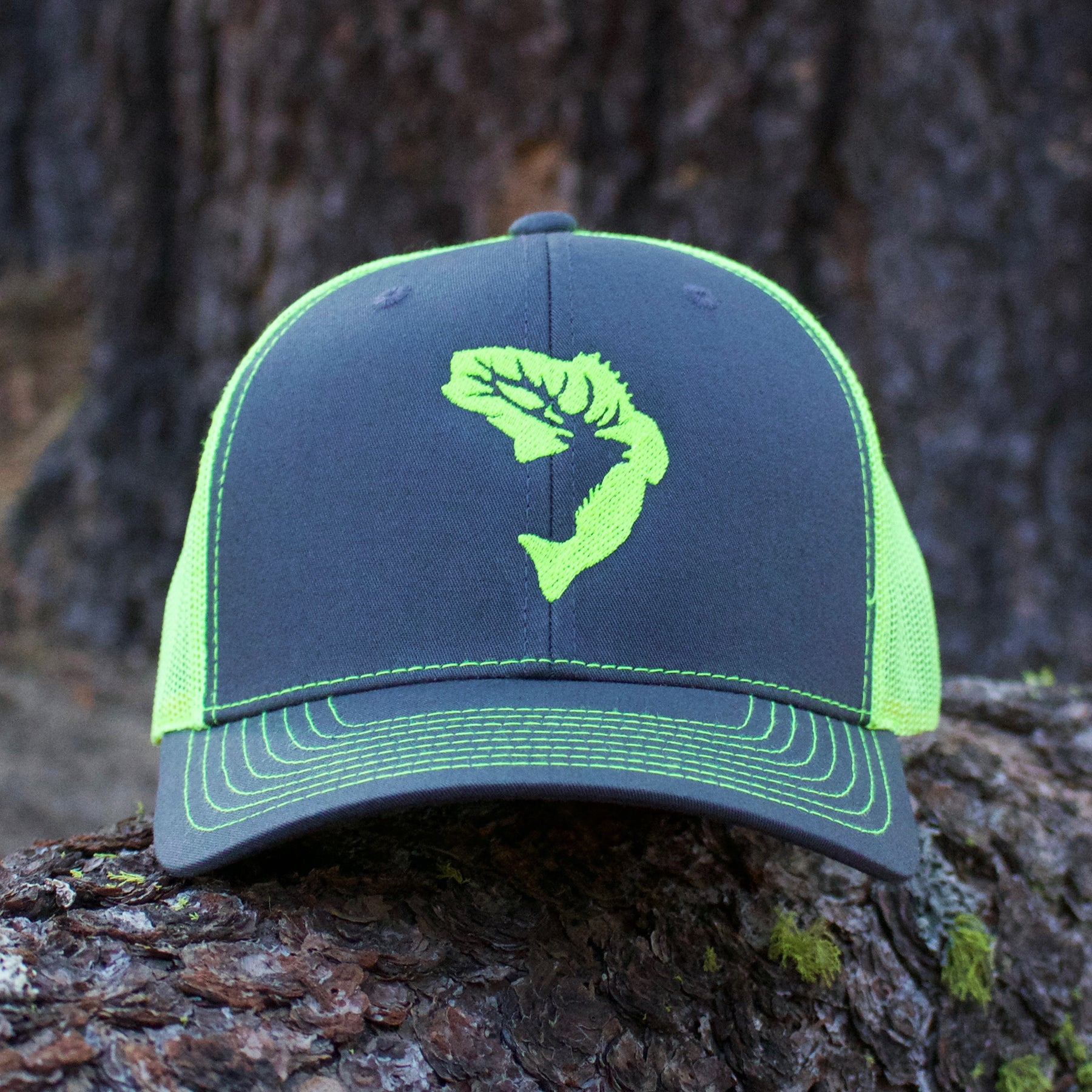 7a37c6d0e Lime Green Icon Snapback Hat