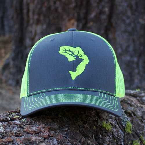Lime Green Icon Snapback Hat