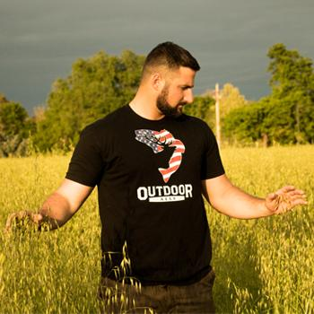 Black Patriot T-Shirt