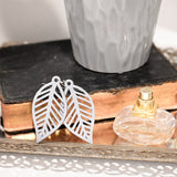 """Emma"" Leaf Earrings"