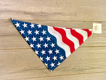 Load image into Gallery viewer, Patriotic Pet Bandanas