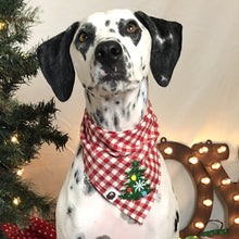 Load image into Gallery viewer, Christmas Pet Bandana