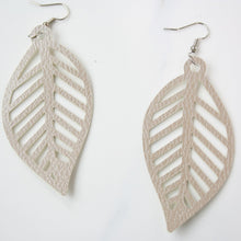 "Load image into Gallery viewer, ""Emma"" Leaf Earrings"