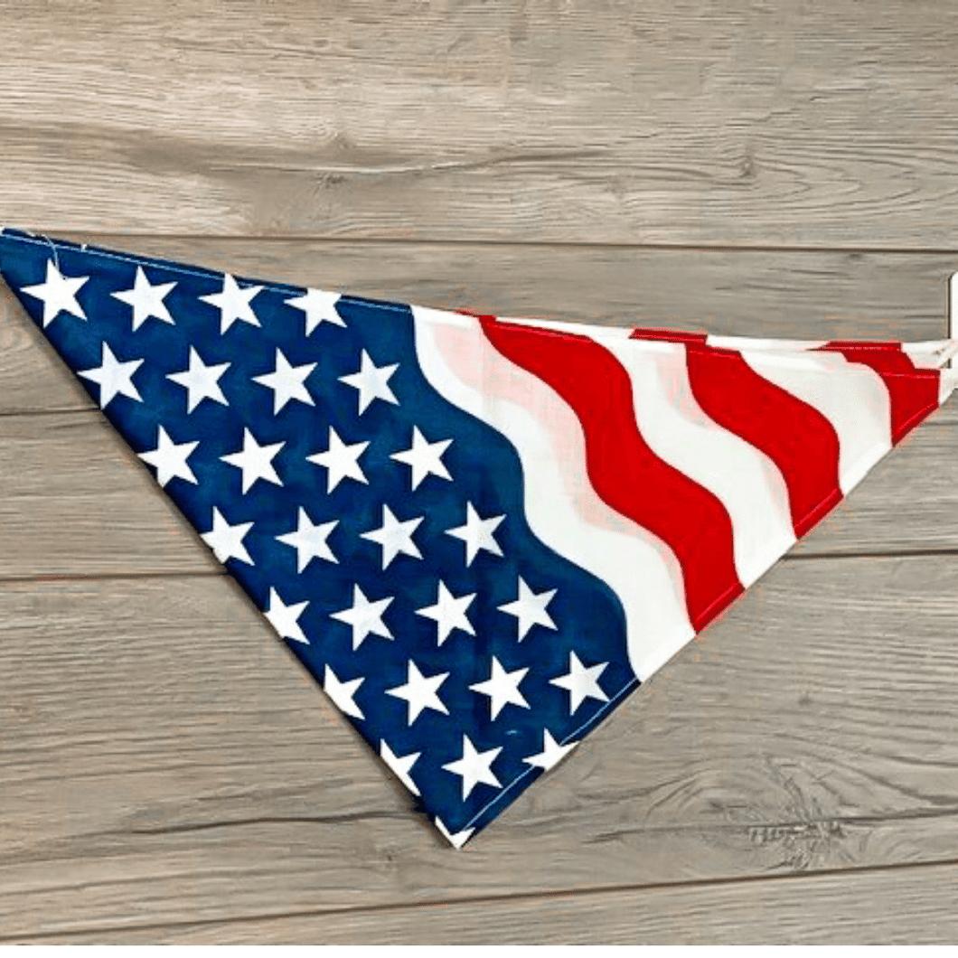 Patriotic Pet Bandanas